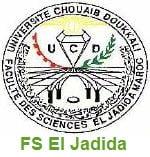 Faculté des Sciences FS EL JADIDA  Candidature Master et Master Spécialisé 2016-2017