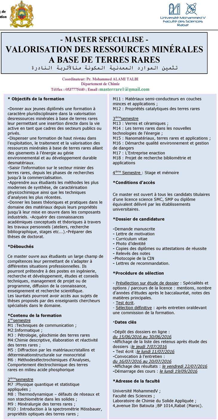 FS-Rabat-Affiche master TR depart Chim