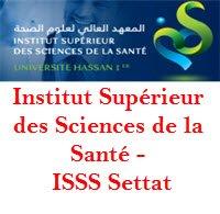 ISSS Institut Supérieur des Sciences de la Santé – Settat