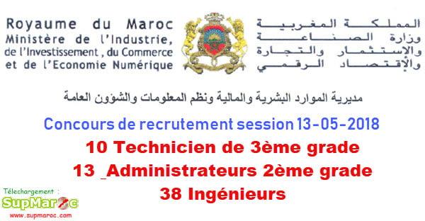 Ministère de l'Industrie, de l'Investissement, du Commerce et de l'Economie numérique