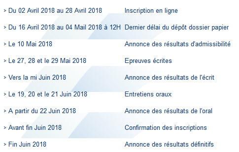 Bac+2 Concours ISCAE Casa Rabat 2018-2019