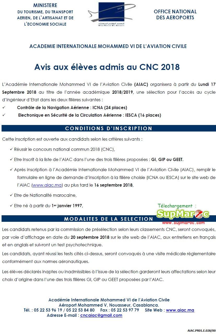 AIAC Casa ICNA et IESCA de l'AIAC 2018-2019