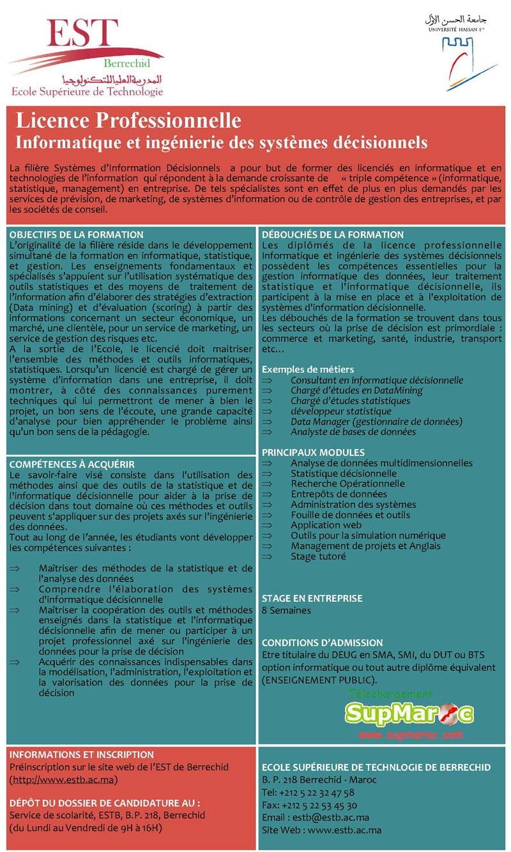 Informatique et Ingénierie des Systèmes Décisionnels (IISD)