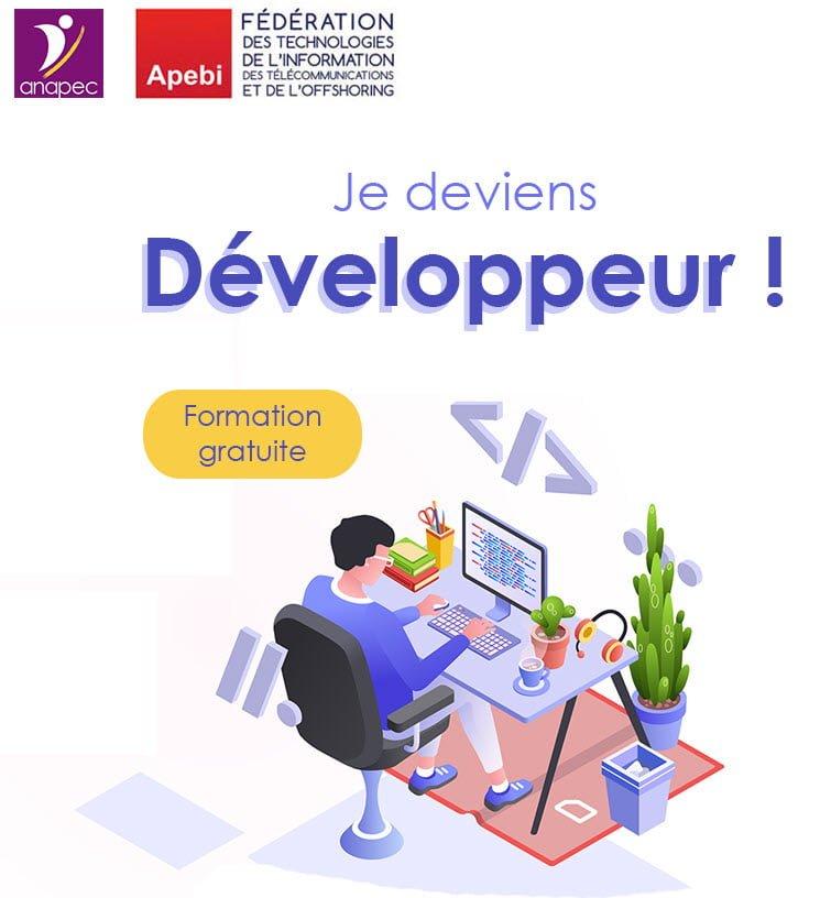 APEBI et ANAPEC Développeur en nouvelles technologies numériques 2019