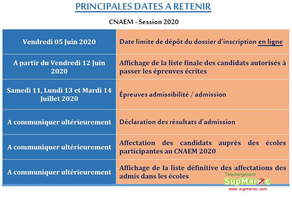 CNAEM 2020 Concours National d'Accès aux Écoles de Management