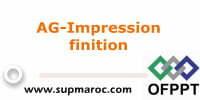 AG-Impression finition