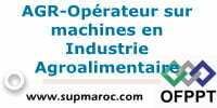 AGR-Opérateur sur machines en Industrie Agroalimentaire