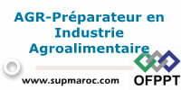AGR-Préparateur en Industrie Agroalimentaire