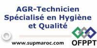 AGR-Technicien Spécialisé en Hygiène et Qualité