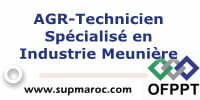 AGR-Technicien Spécialisé en Industrie Meunière