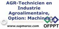 AGR-Technicien en Industrie Agroalimentaire Option Machines