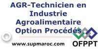 ITA Technicien en Industrie Agroalimentaire, option : Procédés
