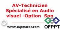 AV-Technicien Spécialisé en Audio visuel -Option Son