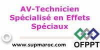 AV-Technicien Spécialisé en Effets Spéciaux