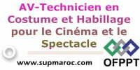 AV-Technicien en Costume et Habillage pour le Cinéma et le Spectacle