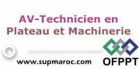 AV-Technicien en Plateau et Machinerie