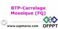 ofppt Formation Qualifiante:Carrelage Mosaïque