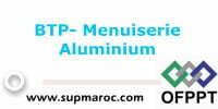 Spécialisation Menuiserie Aluminium