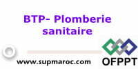 OFPPT Formation Qualifiante Plomberie Sanitaire
