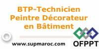 BTP-Technicien Peintre Décorateur en Bâtiment
