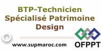 BTP-Technicien Spécialisé Patrimoine Design