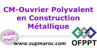 Qualification: Ouvrier Polyvalent en Construction Métallique