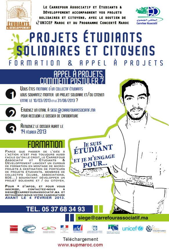 Carrefour Associatif et Etudiants & Développement