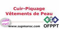 OFPPT Qualification Piquage Vêtement de Peau