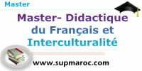 Master Didactique du Français et Interculturalité