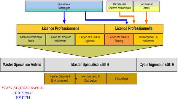 ESITH-licence prof