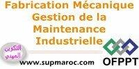 OFPPT Formation Qualifiante Gestion de la Maintenance Industrielle