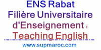 Filière Universitaire d'Enseignement Teaching English as a Foreign Language
