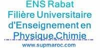 Filière Universitaire d'Enseignement en Physique-Chimie