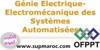 ISTA Technicien Spécialisé Electromécanique des Systèmes Automatisés