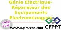 OFPPT Qualification Formation Réparateur des Equipements Electroménagers