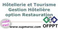 OFPPT ISTA Technicien Spécialisé Gestion Hôtelière Option Restauration