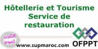 OFPPT ITA Technicien Service de Restauration