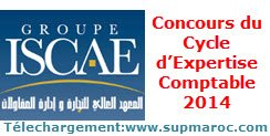 ISCAE Concours du Cycle d'Expertise Comptable 2014
