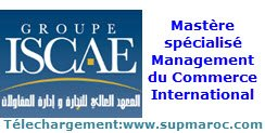 ISCAE Management du Commerce International