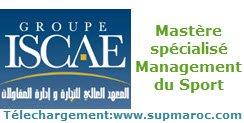 ISCAE Mastère spécialisé Management du Sport