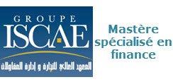 ISCAE Mastère spécialisé en finance