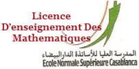 Licence D'enseignement Des Mathematiques
