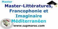 Master Littératures Francophonie et Imaginaire Méditerranéen