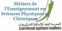 Métiers de l'Enseignement en Sciences Physiques et Chimiques