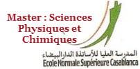 Master Sciences Physiques et Chimiques