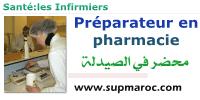 Préparateur en pharmacie IFCS infirmier