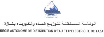 Régie Autonome de Distribution d'Eau et d'Electricité à TAZA RADEETA