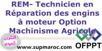 OFPPT ITA Technicien en Réparation des Engins à Moteurs (Option : Machinisme Agricole) Formations