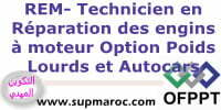 OFPPT ITA Technicien Formation Réparation des Engins à Moteurs (Op : Poids Lourds et Autocars)