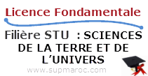 Licence Fondamentale STU SCIENCES DE LA TERRE ET DE L'UNIVERS